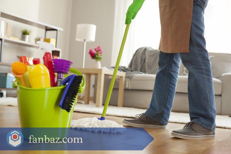 نظافت منزل در مشهد